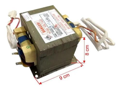 transformador alta tensao microondas 110v gal900u-2 class220