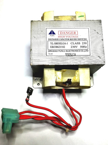 transformador alta tension microondas 800w   gal-800