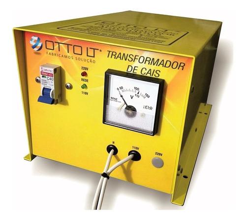transformador automático isolado bivolt 5000w - marinizado