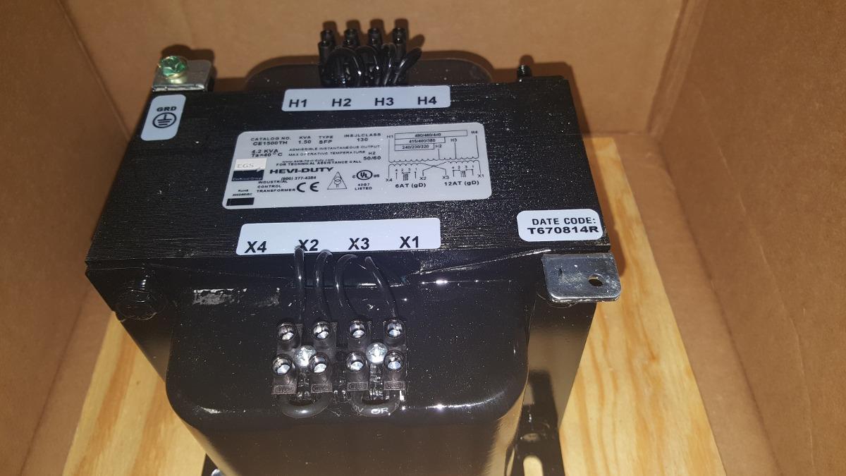 Transformador control 1 5 kva 440 220 110 power industrial - Transformador 220 a 110 ...