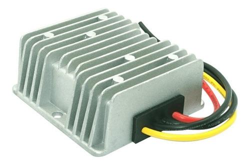 transformador conversor convertidor 24v a 12v 10a - enertik