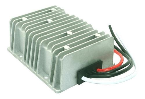 transformador conversor convertidor 24v a 12v 30a - enertik