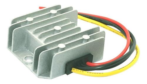 transformador conversor convertidor 24v a 12v 5a - enertik