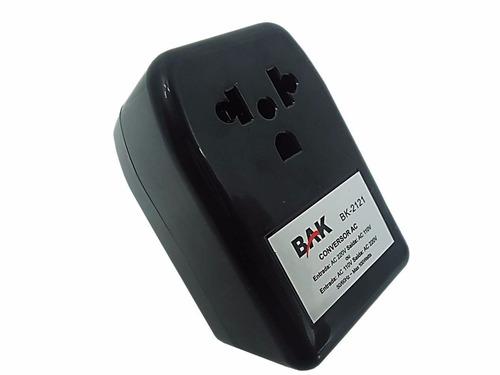 transformador conversor de voltagem 110-220v / 220-110v 100w
