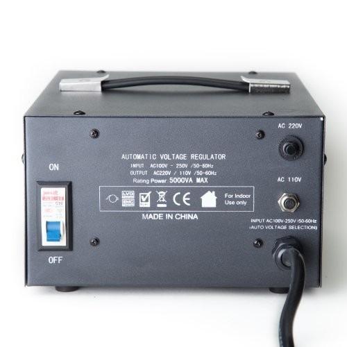 Transformador convertidor de voltaje 110 220 y 220 110 - Transformador 220 a 110 ...