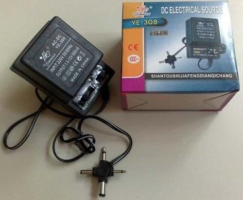 Transformador corriente 110v a 12v 9v 6v doble polaridad for Transformadores de corriente 220v a 12v