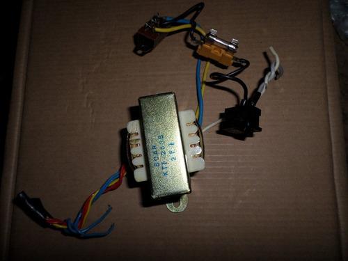 transformador da calculadora general teknika 2002p-110/220 v