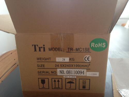 transformador de cápsula mc - tri tr-mc1se - pré de phono