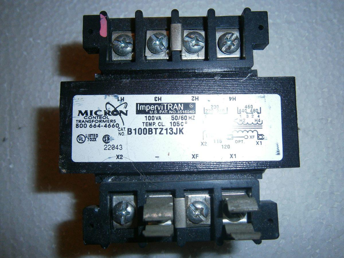 Transformador de control 440v 220v 110v 100va bs 0 57 - Transformador 220 a 110 ...