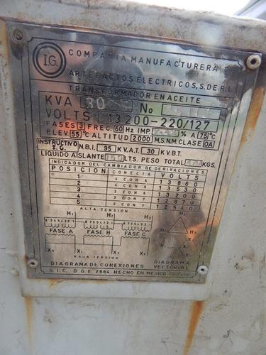transformador de garganta 30 kva