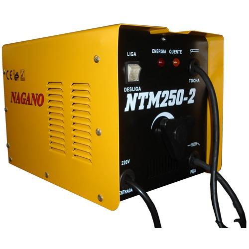 transformador de solda 250 ampéres monofásica 60 hz - ntm