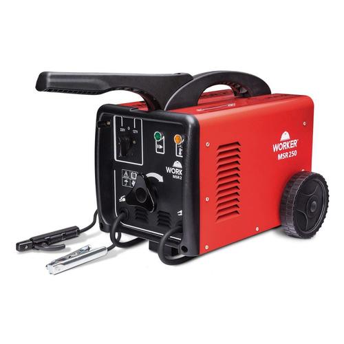transformador de solda 250a bivolt msr-250 worker