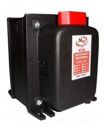 transformador de voltagem 2000va = 1400 watts 12x sem juros