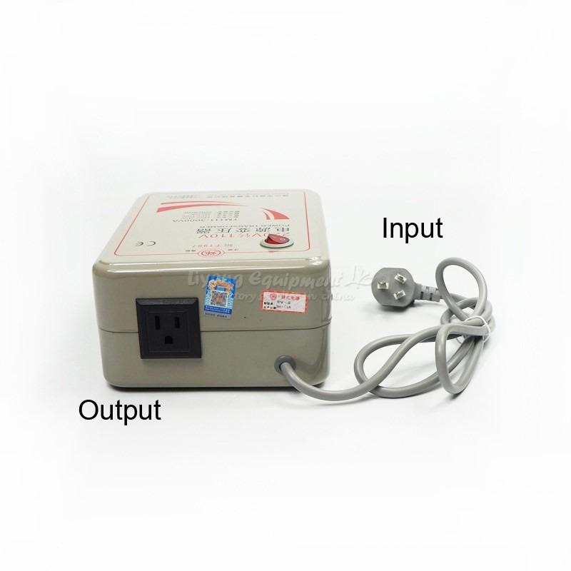 Transformador de voltaje 110v a 220v o 220v a 110v 3000w - Transformador 220 a 110 ...