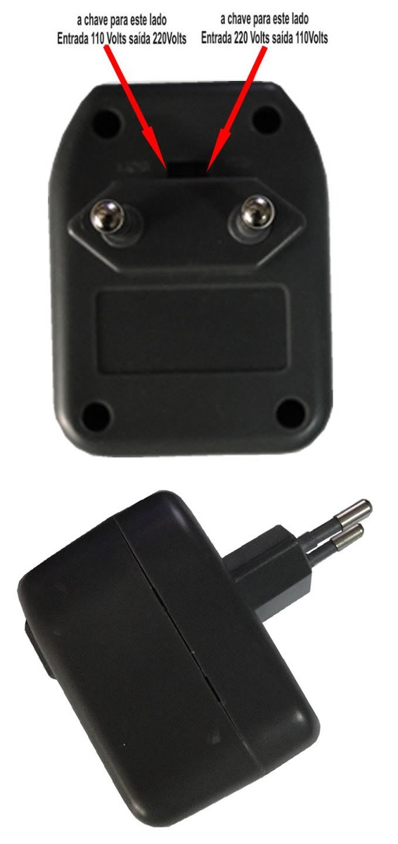 Transformador e conversor de voltagem 220 110v ou 110 220v - Transformador 220 a 110 ...