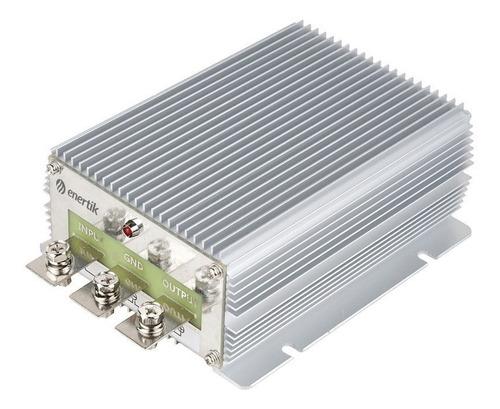 transformador elevador convertidor 12v a 24v 30a - enertik