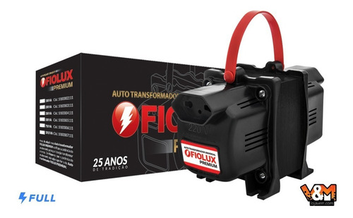 transformador fiolux premium 2000va bivolt 110/127v e 220v
