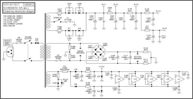 Transformador Força ( Vox ® Ac15c1 Ac15c2 ) on