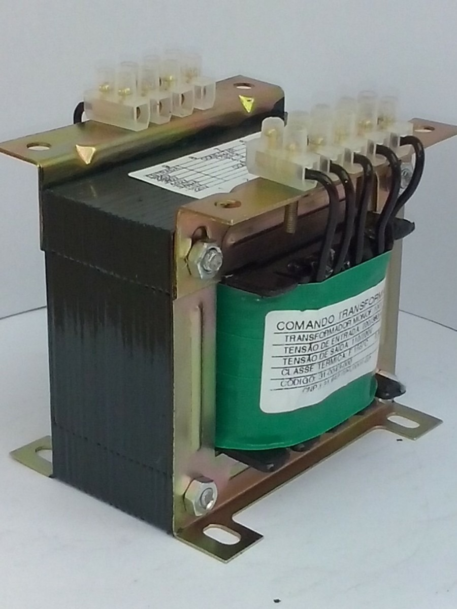 Transformador isolador 200va 220 380 440v sa da 110 - Transformador 220v a 12v ...