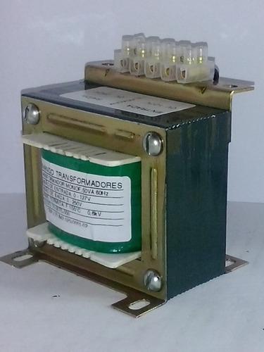 transformador isolador - 50va - entrada 220v - saída 220v