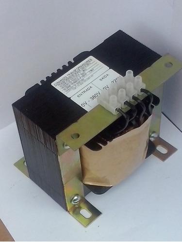 transformador isolador 700va entrada 440v saida 220v