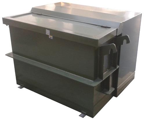 transformador pad mounted 1f, 13,8kv / 120-240v de 50 kva