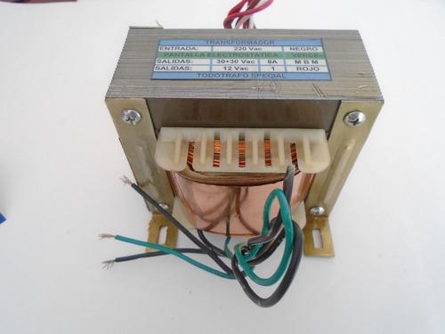 transformador para modulo amplificador audioproject 100+100 watts
