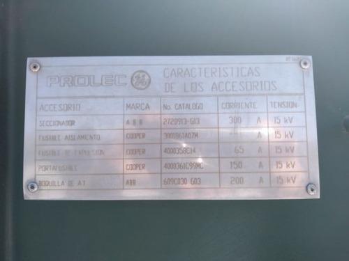 transformador pedestal 1000 kva