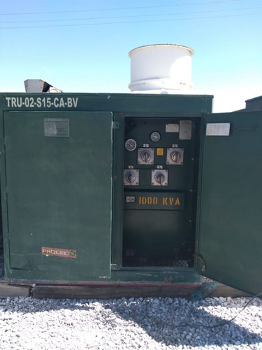 transformador pedestal 1000 kva serie: kf167-01