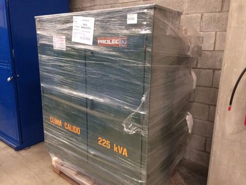 transformador pedestal 225kva prolec norma k 23000-220/127v