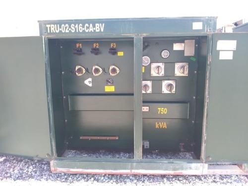 transformador pedestal 750 kva