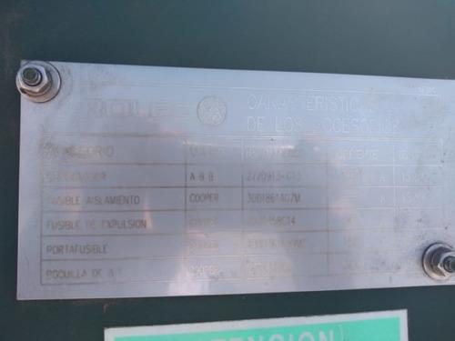 transformador pedestal 750 kva serie: kf319-02