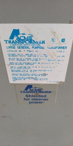 transformador seco 30 kva acme  tr-e40