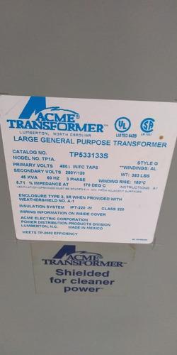 transformador seco 45 kva  acme tr-e32