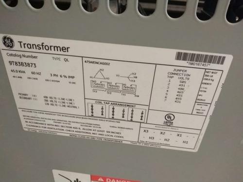 transformador seco 45 kva general electric tr-e24