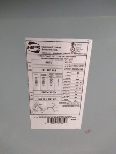 transformador seco 45 kva marca hps tr-e53