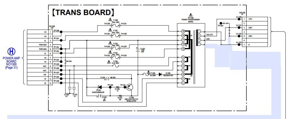 Transformador Som Sony Gtr88 Original