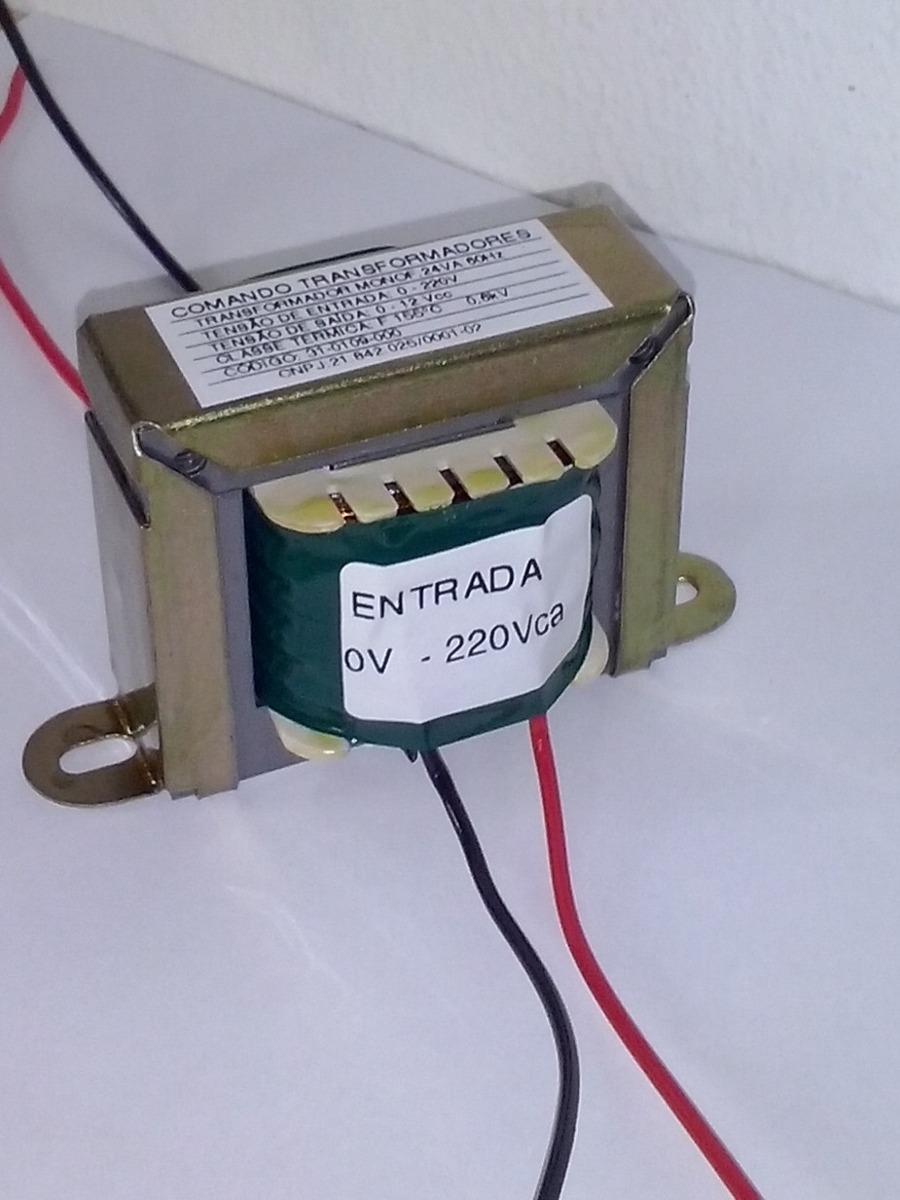 Transformador trafo 110 220v sa da 12v 10a 120va r - Transformador 220v a 12v ...