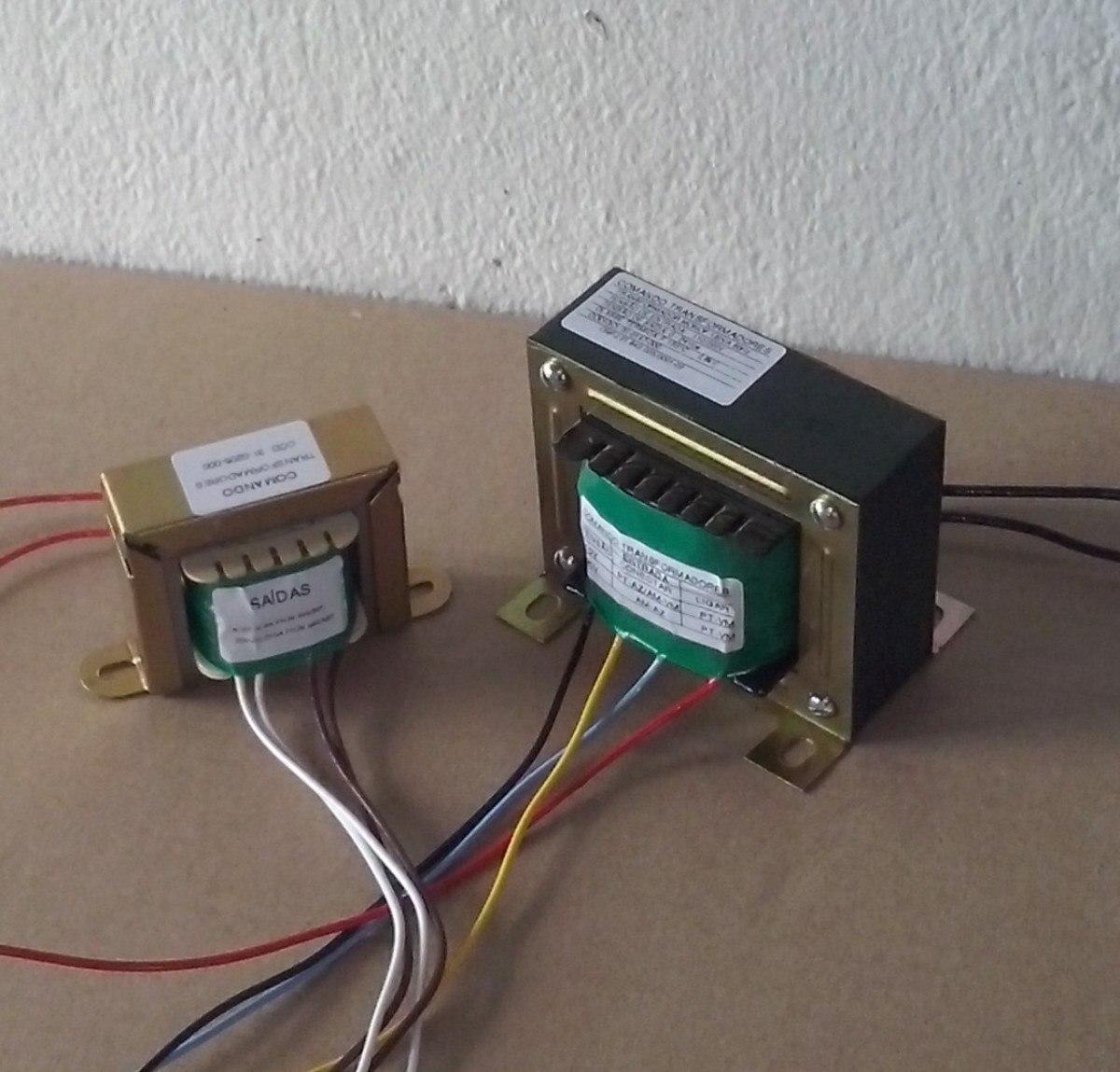Transformador trafo 110v 220v sa da 20 20v 7a - Transformador 220 a 110 ...