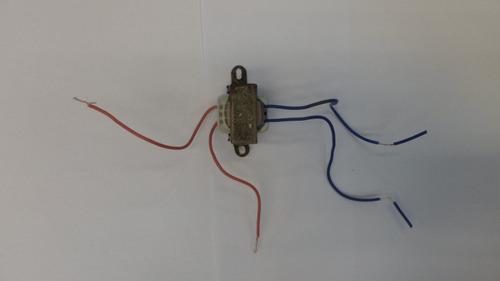 transformador trafo 4.5v alterna 220v alterna (usado) e5062