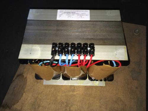 transformador trifasico 10.000va 10kva 220v/440 fio cobre
