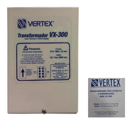 transformador vertex para lampara de alberca 300w a 12v