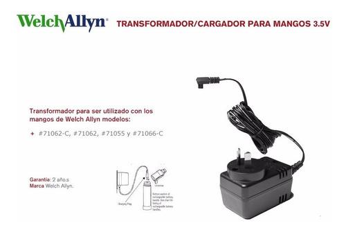 transformador welch allyn para cargador mangos 3.5 v