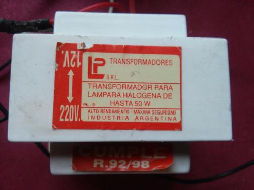 transformadores 220 volts / 12 volts 4 amper 50 watts