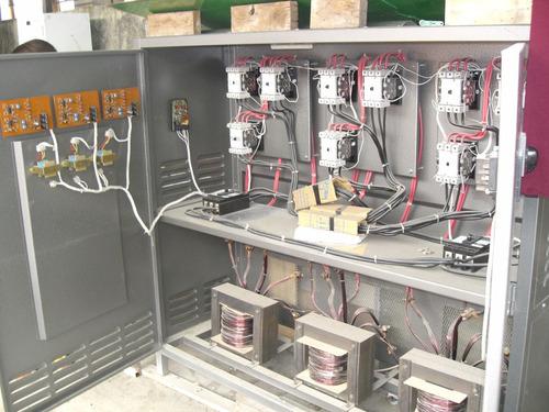 transformadores,  automatizacion de elevadores de voltaje