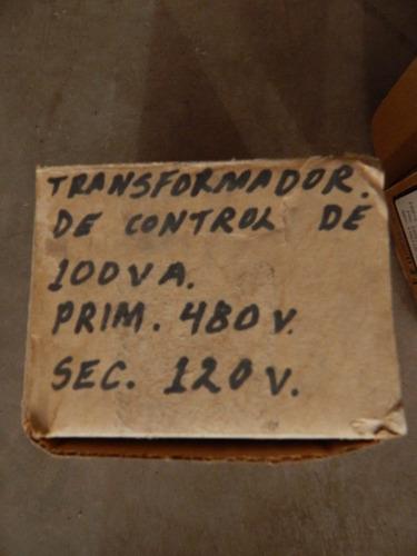 transformadores de control 100va