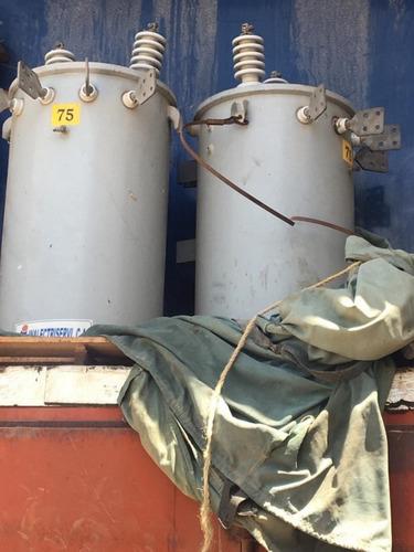 transformadores en aceite de 75kva