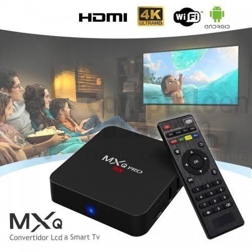 transforme sua tv em smart tv box pro android 2gb e 16 rom