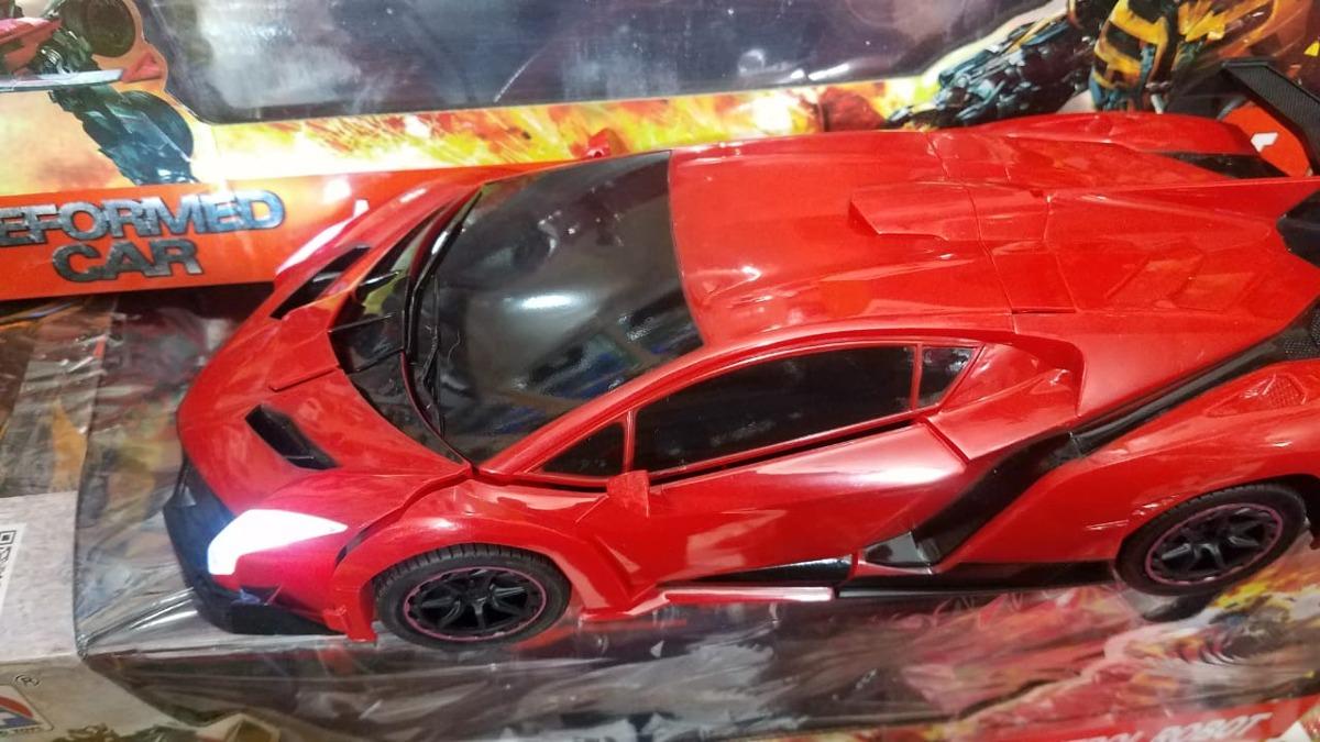 Transformer Lamborghini Veneno Rojo Control Remoto - $ 899.00 en Mercado Libre