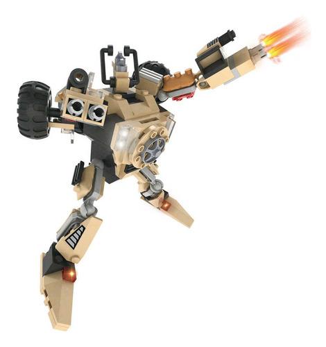 transformer robot tanque de guerra cogo bloques armables